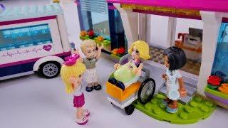 Mama Stephanie rodzi w szpitalu !!! - Bajka po polsku z klockami Lego Friends odc.73