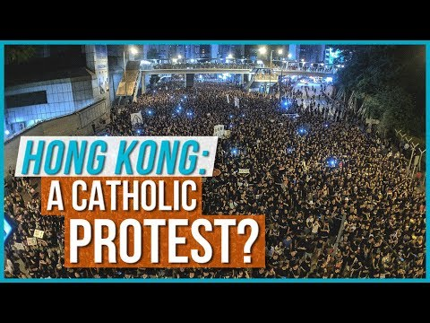 Hong Kong: A Catholic Protest?