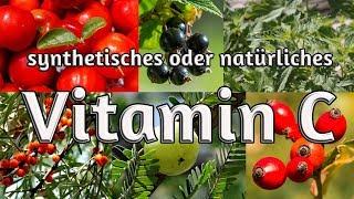 Natürliches oder synthetisches Vitamin C?   Wirkung   Entdeckung   therapeutische Anwendungen