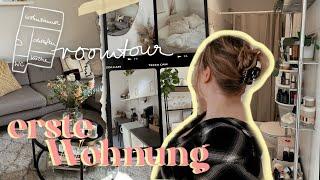 WOHNUNGSTOUR // MEINE ERSTE EIGENE WOHNUNG!! 2 Zimmer, 38qm | annalbk