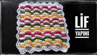 Zikzaklı Pıtırcık Lif Ve Battaniye Yapılışı