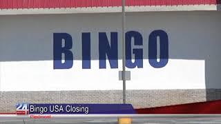 Bingo USA Closes Down