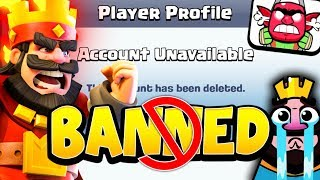 THE TRUTH ABOUT BANS in CLASH ROYALE!