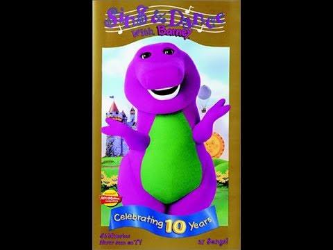 sing and dance with barney 2000 vhs rip