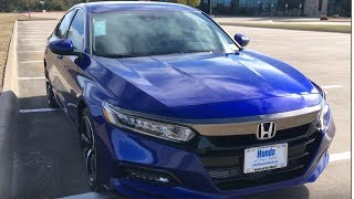 More Fun With A Turbo!---2018 Honda Accord Sport(1.5 Turbo)Review | Kholo.pk