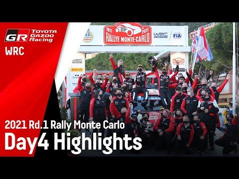 トヨタGazooRacingが好発進 WRC 2021 Day4のハイライト動画