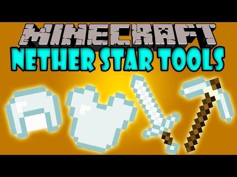 NETHER STAR TOOLS MOD - Herramientas y Armaduras de Nether Star - Minecraft mod 1.7.10,1.7.2 y 1.5.2