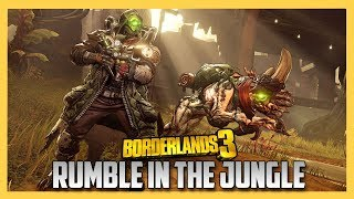 Borderlands 3 FL4K the Beastmaster Gameplay - Rumble in the Jungle quest!   Swiftor