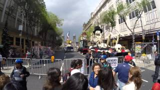 preview picture of video '(4K) Walking to and around James Bond Film Set in Mexico City'