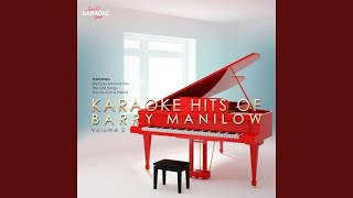 Right Here Waiting (In the Style of Barry Manilow) (Karaoke Version)