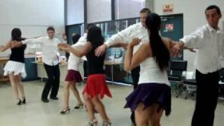 """Merengue Dance Final to """"Moviendo Las Caderas"""""""