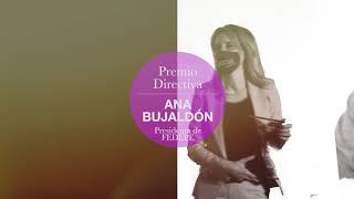 Ana Bujaldón, ganadora del Premio Belleza Inteligente Yo Dona by Cien en la categoría Directiva.