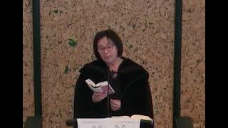 Rózsatéri Istentisztelet igehirdető Tímár Gabriella Ulla  2020. 02. 02.