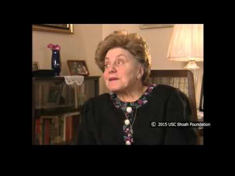 Nelly Brummer sobreviviente del Holocausto rememora las espantosas condiciones durante la marcha de la muerte