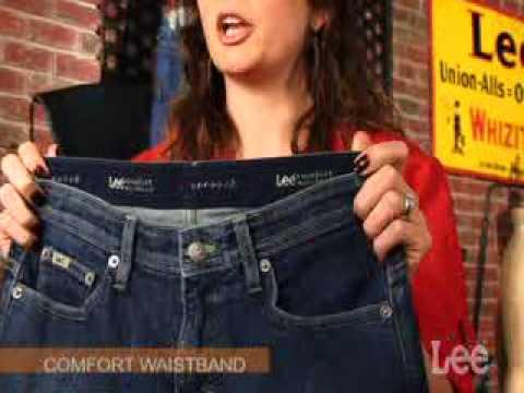 Lee Jeans Fit Finder- Woman's Waist