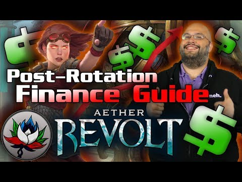 The Best Magic: The Gathering Cards to Buy NOW – Aether Revolt Post Rotation Finance Guide for MTG!
