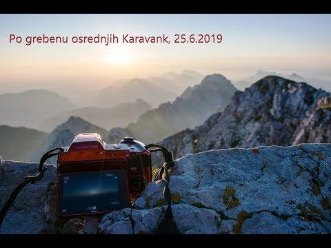 Po grebenu osrednjih Karavank