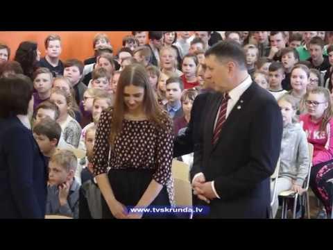 Skrundā viesojās Valsts prezidents Raimonds Vējonis