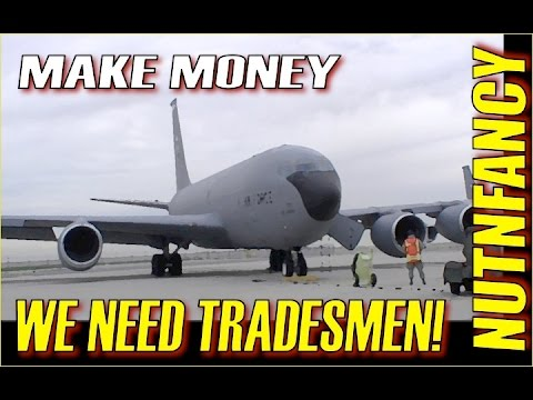America is in Crisis: No Freakin' Tradesmen!