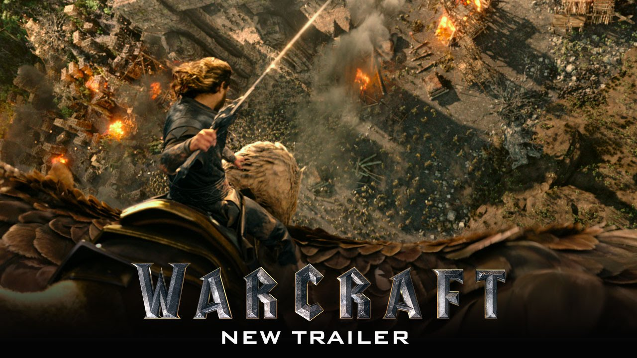 Movie Trailer:  Warcraft (2016)