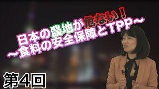 第04回 日本の農地が危ない!~食料の安全保障とTPP~