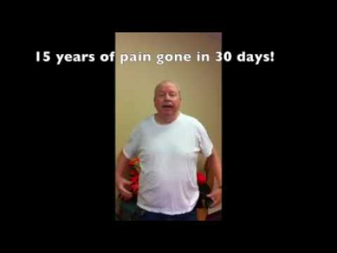 15 Years of Pain Gone in 30 Days!