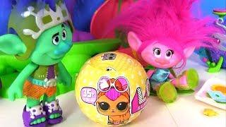 #Лол LoL Surprise Питомцы ЛОЛ и Тролли #Видео для детей! Мультик с игрушками! Сюрпризы ЛОЛ