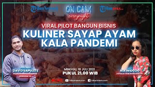 Viral Kisah Pilot Bangun Bisnis Kuliner Sayap Ayam Kepak Madu Ma'el, Tembus Laku 200 Porsi per Hari