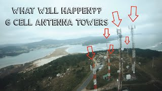 Flying FPV around 6 CELL ANTENNA TOWERS - TANGO 2