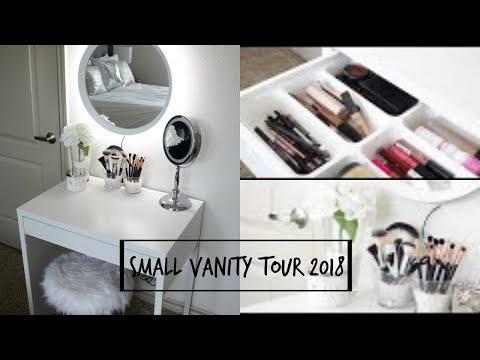 Small Vanity Tour 2018 | ddluvsbeauty