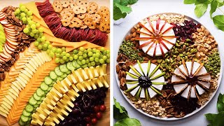 9 Clever Appetizer Recipes for Your Next Dinner Party! | Easy DIY Snacks by So Yummy