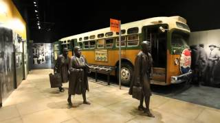 Video Tour of Civil Rights Museum
