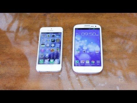 iPhone 5 v/s Galaxy SIII - FIGHT!