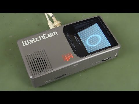 EEVblog #1033 - Sony WatchCam Pocket Flat CRT Monitor Teardown