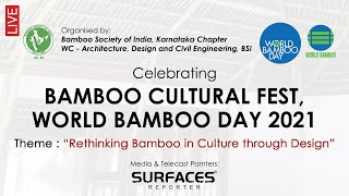 LIVE! WORLD BAMBOO DAY 2021 | SURFACES REPORTER- Media & Telecast