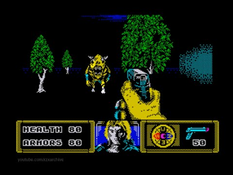 The Dark Walkthrough, ZX Spectrum
