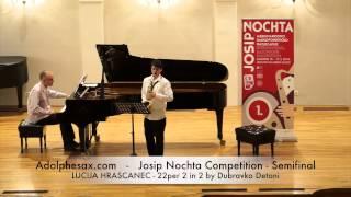 JOSIP NOCHTA COMPETITION LUCIJA HRASCANEC 22per 2 in 2 by Dubravko Detoni