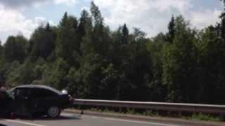 Авария на М8, Грязовецкий район