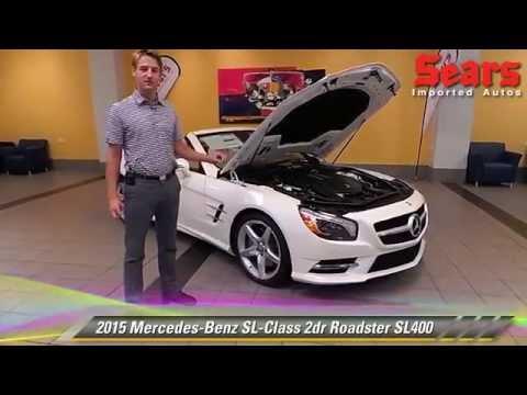 New 2015 Mercedes-Benz SL-Class Roadster SL400 - Minnetonka, Minneapolis, Bloomington, MN