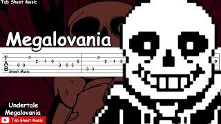 Undertale - Megalovania Guitar Tutorial
