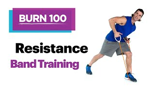 Resistance Band Training–Quick & Easy At-Home Workout Routine–SELF's Burn 100 Calories by SELF Magazine