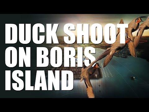 Fieldsports Britain : Duck shoot on Boris Island