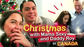 #MajaMoments - Christmas with Mama Sexy and Daddy Roy in Canada!