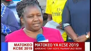 Wazazi, walimu na wanafunzi wa shule ya upili ya Moi Kabarak washerekea matokeo ya mtihani wa KCSE