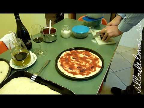Как приготовить итальянскую пиццу. Часть 2