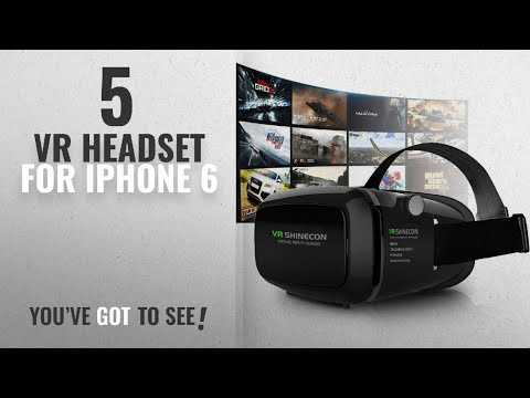 Top 5 VR Headset For IPhone 6 [2018 Best Sellers]: 3D VR Headset, Yove 3D Virtual Reality Headset