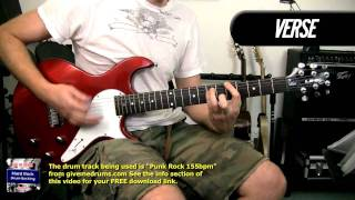 Somebody Put Something In My Drink - Children Of Bodom - Electric Guitar Cover