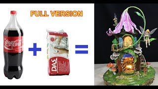 DIY Lily Flower Roof  Fairy Using Plastic Bottle - FULL DETAIL