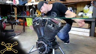 Making a Harley Davidson Engine Table