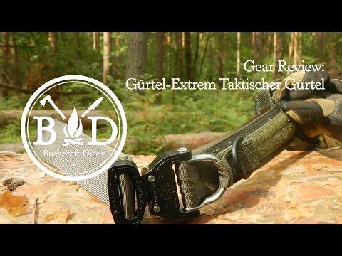Gear Review: Mein taktischer Gürtel von gürtel-extreme.de